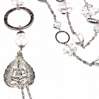 Long Silver Ganesh Quartz : 104