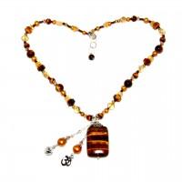 Tiger Eye Vata Balancing Necklace #125