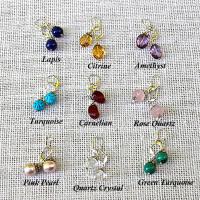 Gemston Earrings #621