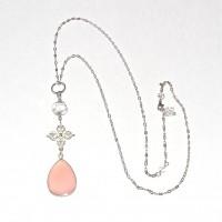 Pink Chalcedony Double Dorje #343