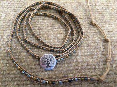 Tree of Life 5x wrap bracelet/Sku527
