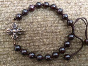 Tibetan Double Dorje bracelet/Sku526