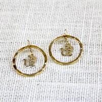 Ethnic Om Earrings #426