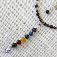 Chakra Small Dangle Necklace #415