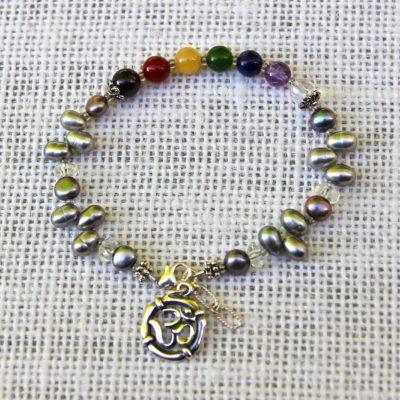 Pearl Chakra Bracelet #516