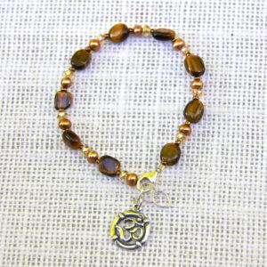 Tiger Eye Vata Calming Bracelet #507