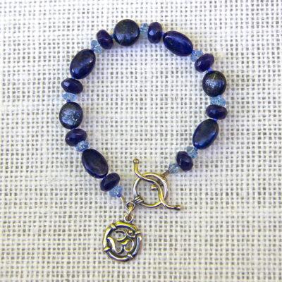 Lapis Pitta Balancing Bracelet #508