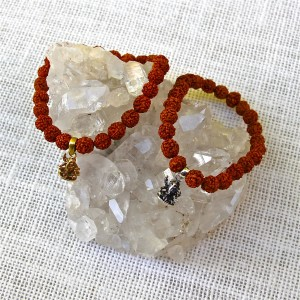 Rudraksha Ganesh Bracelet/sku520/521