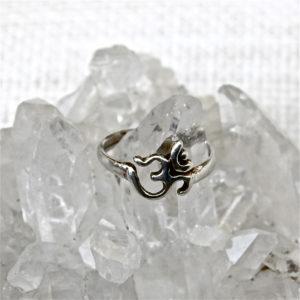 Sterling Silver Om Rings #705