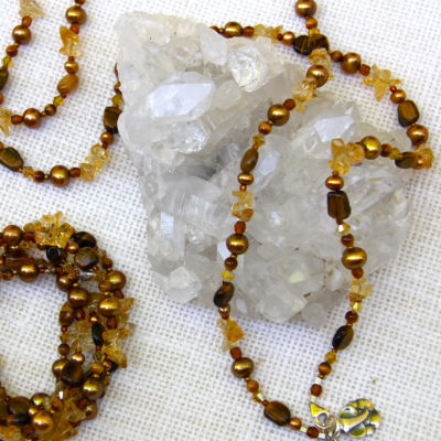 Earthtone Multi-Use Bracelet or Necklace #533