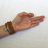 Sandalwood Multi-Use Bracelet or Necklace #538