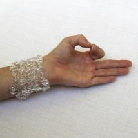 Quartz Crystal Multi-Use Bracelet or Necklace #537