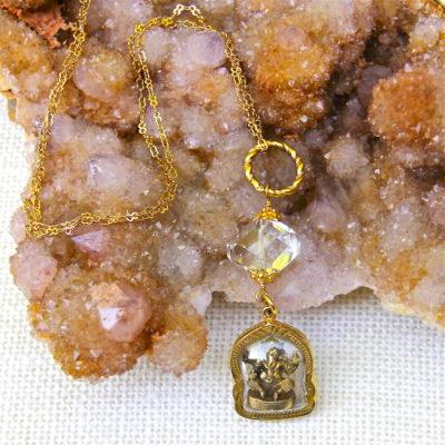 Ganesh Prayer Case Chain #345