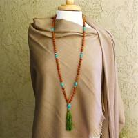 Rudraksha and Turquoise 108 Mala #388
